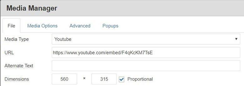 youtube video dsgvo konform in joomla einbinden 1