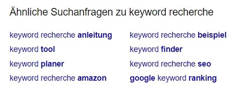 keyword recherche suchintention 2