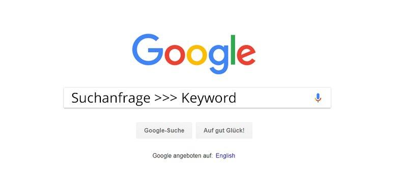 suchanfrage keyword