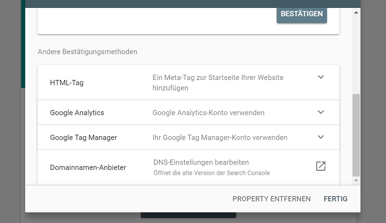 search console inhaberschaft bestaetigen 2