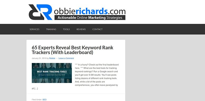 robbie richards seo blog
