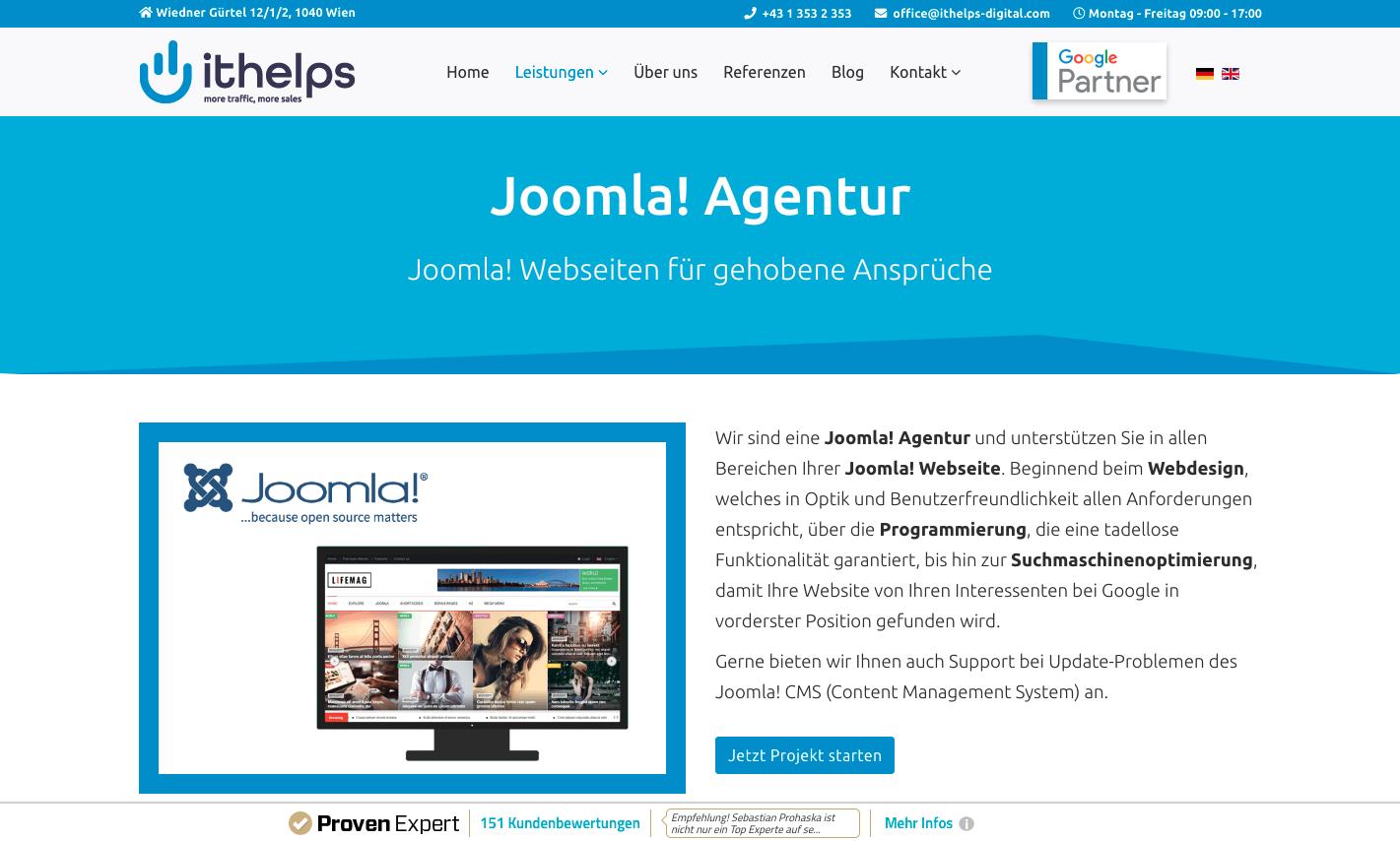 Joomla Agentur Hamburg