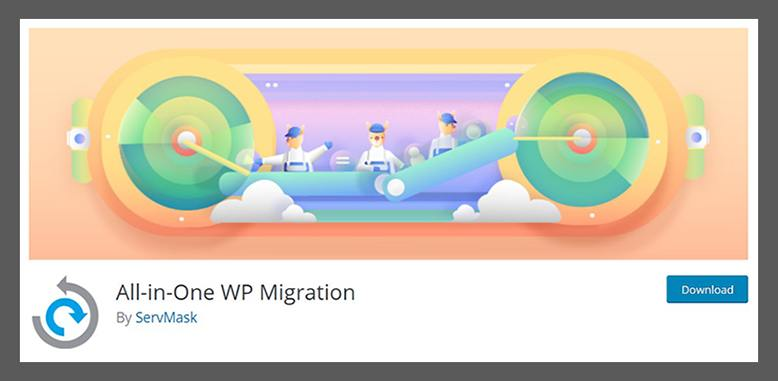 wp plugin all in one wp migration