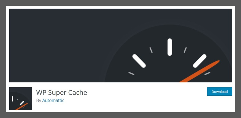 wp plugin wp super cache