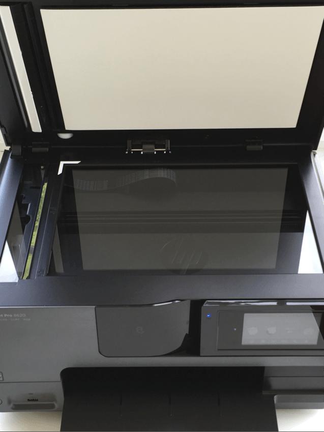 der hp officejet pro 8620 tintenstrahldrucker im test. Black Bedroom Furniture Sets. Home Design Ideas